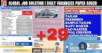 Global Job Solution - Vacancy Paper
