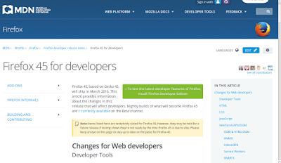 LINUX BUG ONE: Firefox 45 está disponível para download