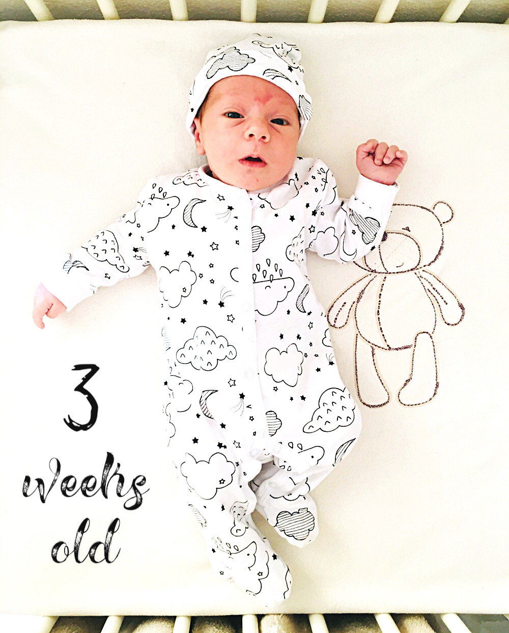 3 weeks old baby boy, baby model, baby sleeping clothes, pizdama za bebe