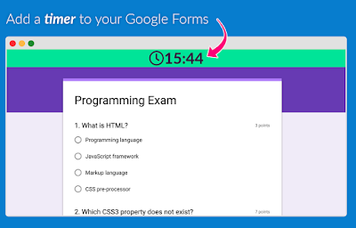 Here Is How to Time Your Google Forms Quizzes