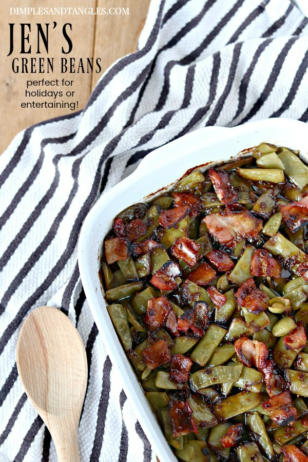 Thanksgiving Side Dish, holiday vegetable dish, green bean casserole