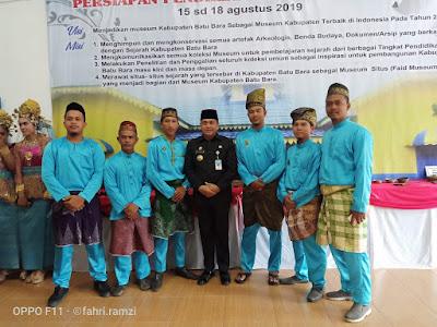 Bupati Zahir Buka Acara  Pameran Sejarah dan Kebudayaan Batubara
