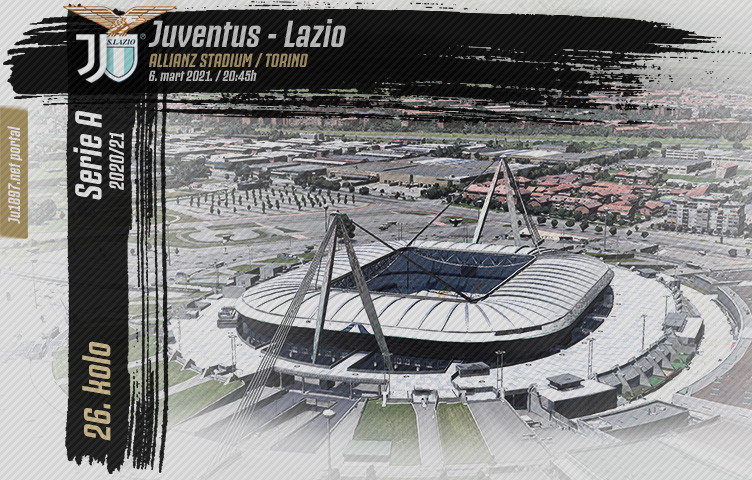 Serie A 2020/21 / 26. kolo / Juventus - Lazio, subota, 20:45h