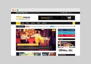 Nanopress blogger template Free Download |