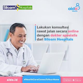 Aido Health bekerjasama dengan Siloam Hospitals
