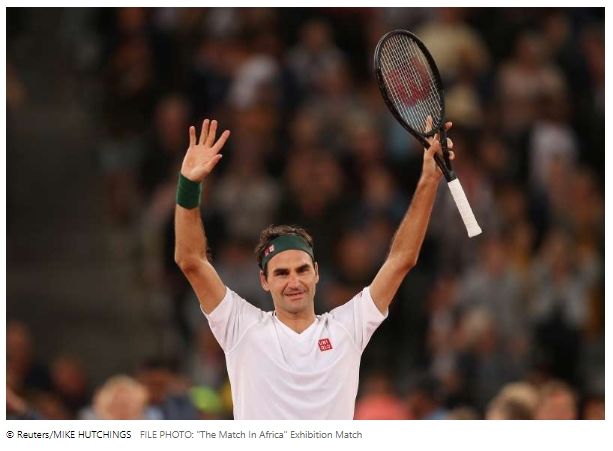 Federer will pay shock go to rooftop tennis girls