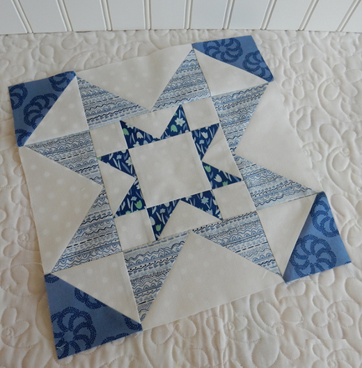 Double Star Block Free Pattern