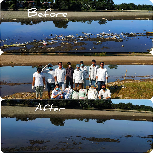 Burhi dehing cleanup