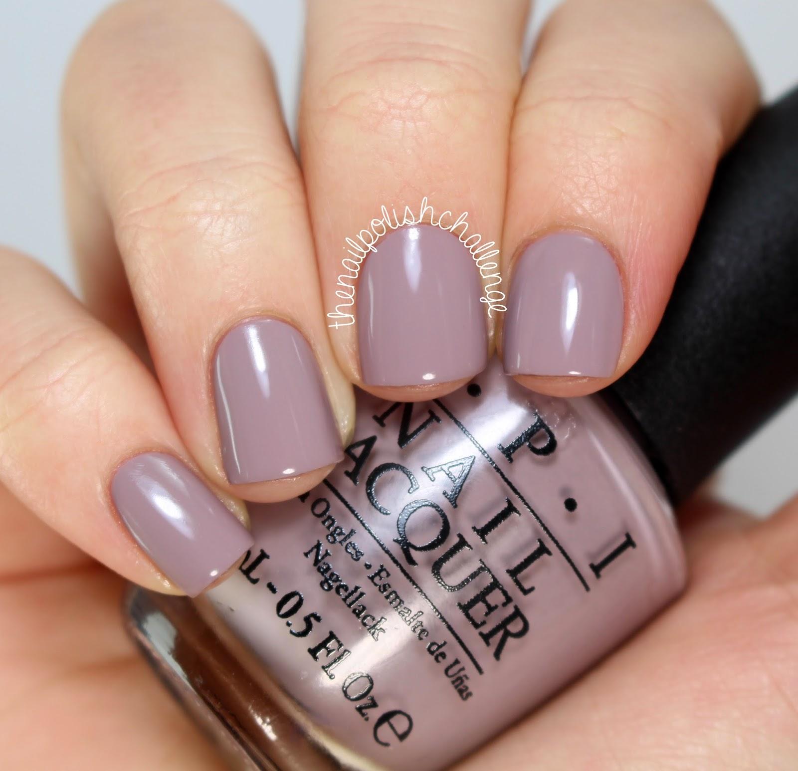 Purple Taupe Nail Polish: Kelli Marissa: HB Beauty Bar: OPI Brazil 2014 Collection