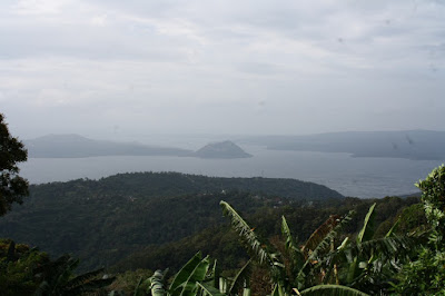 Taal volcano for picnic grove