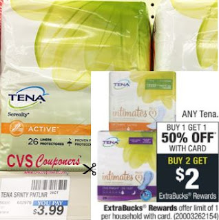 FREE Tena CVS Deal - 8/4-8/10