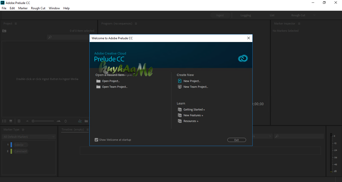 Adobe Prelude CC