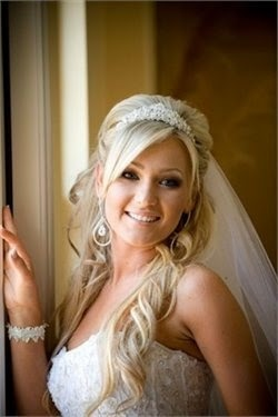 Half Up or All Down hair dos - Beautiful & Stylish New Wedding Hair Style Collection 2014|Stylish & New Wedding Party Hair Style Collection 2014 Latest Bridal Hairstyle Collection  See more http://www.womensandmenshairstyle.net/