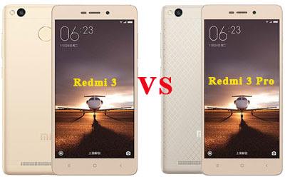 3 Perbedaan Antara Xiaomi Redmi 3 dan Redmi 3 Pro