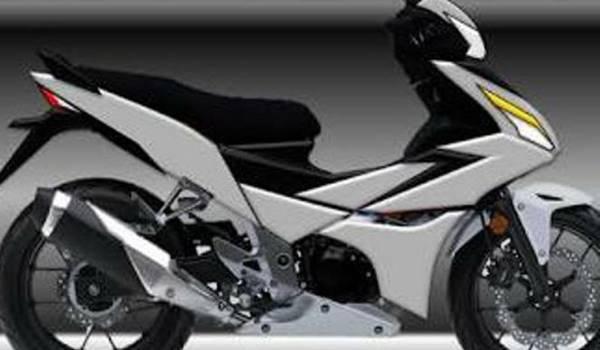 Bebek super Honda dari keluarga Supra