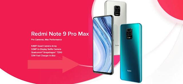 redmi note 9 pro max specification
