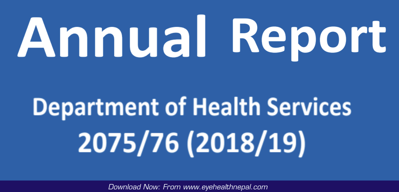 DOHS Annual Report 2075-76 Department of Health Services