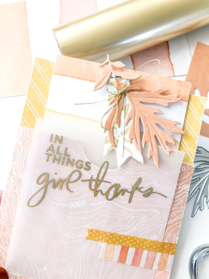 How To Create Foiled Sentiments On All The Things by Jamie Pate