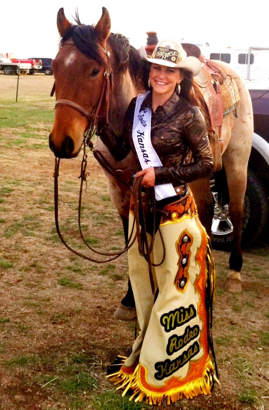 Miss Rodeo Kansas 2013 September 2013
