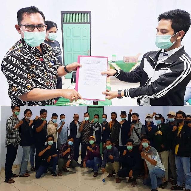 Amunisi Baru, Gerakan Pemuda Perubahan Kumun Debai Deklarasikan Dukungan untuk AZAS