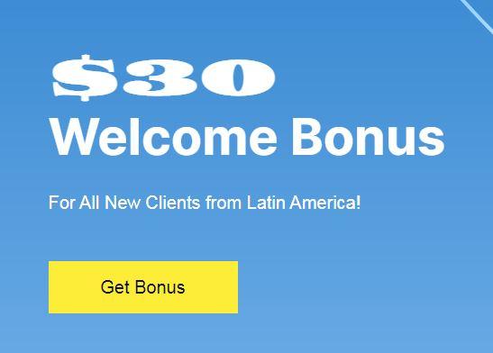 Bonus Forex Tanpa Deposit Justforex $30 - Welcome Bonus