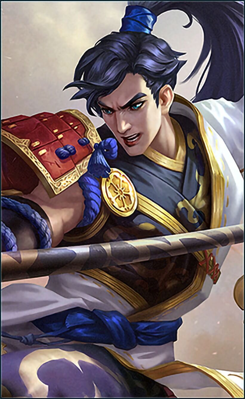 Wallpaper Zilong Eastern Warrior Skin Mobile Legends HD for Android and iOS