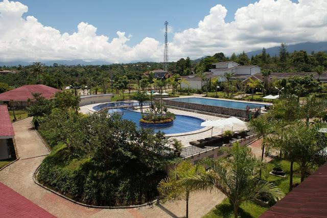 lokasi gathering di taman bukit palem resort
