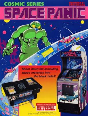 Portada videojuego Space Panic