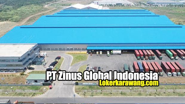 Lowongan Kerja PT Zinus Global Indonesia Karawang 2020