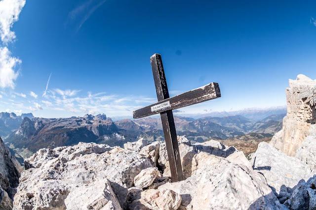 Gipfel Cima Josef Mountainbike