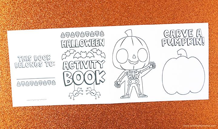 Free Printable Halloween Activity Book