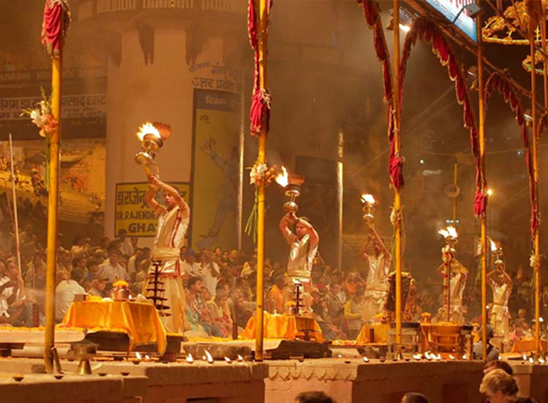 Incredible India Experiences - Gange Aarti