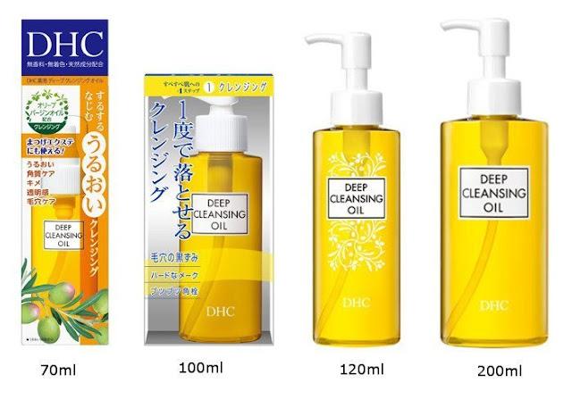giá bán dầu tẩy trang DHC deep cleansing oil da dầu