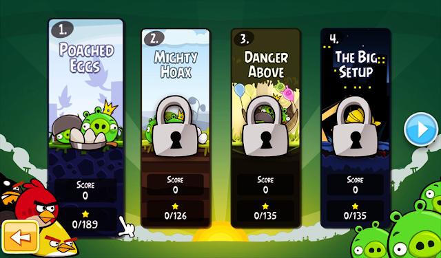 تحميل لعبة الطيور الغاضبة Angry Birds 4 للكمبيوتر