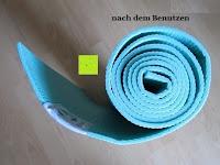zusammengerollt: Yogamatte »Annapurna Comfort« / Die ideale Übungs-Matte für Yoga, Pilates, Gymnastik. Maße: 183 x 61 x 0,5cm / In vielen Trend-Farben erhältlich.