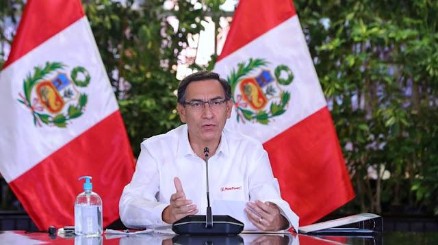 El presidente Martín Vizcarra anunció un nuevo bono de 760 soles