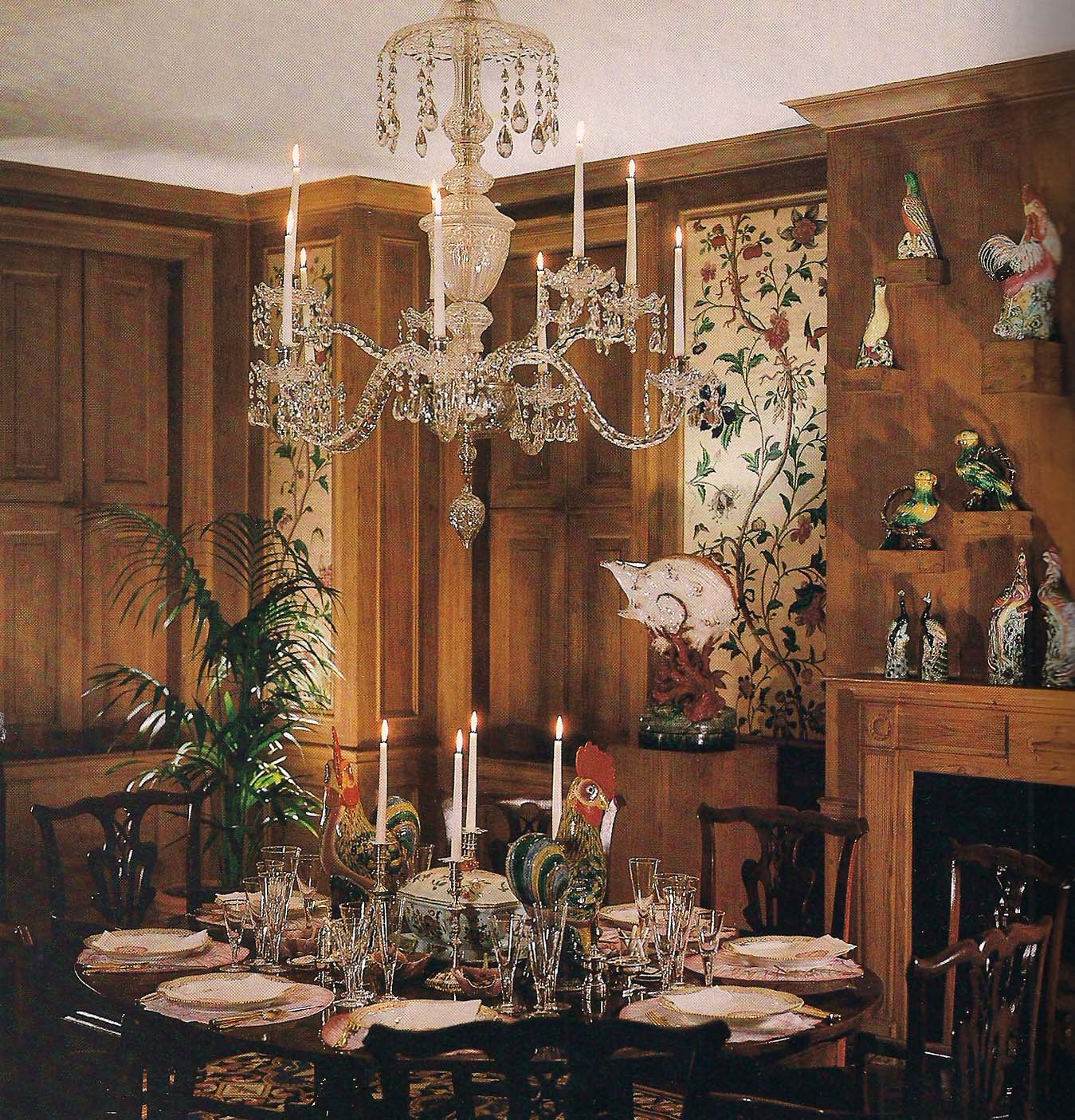 The Kempner Dining Room Photo By Derry Moore For Architectural Digest
