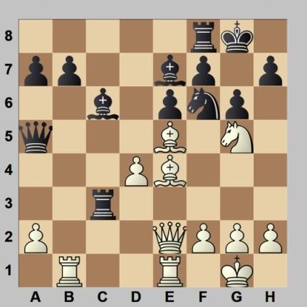 Partida de ajedrez Prado - Albareda, Campeonato de España por equipos 1960