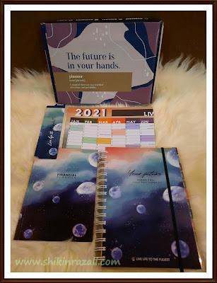 Review Planner 2021 by Shikin Razali