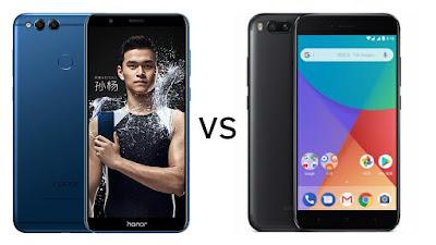 Honor 7X vs Xiaomi Mi A1