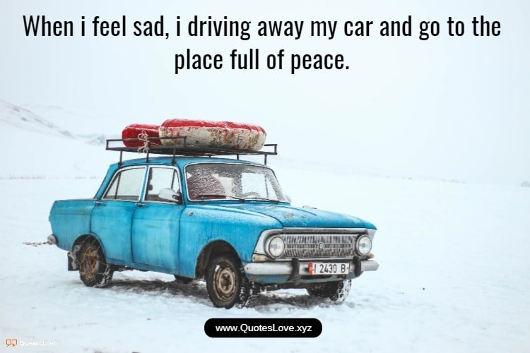 Driving Away Quotes