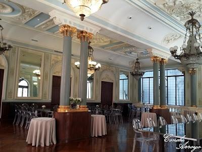 Salón de té, aunque se suele utilizar para otras celebraciones. Casino de Murcia