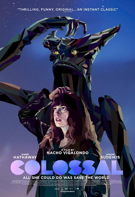 colossal nacho vigalondo anne hathaway jason sudeikis monstruos ciencia ficción cine cartel