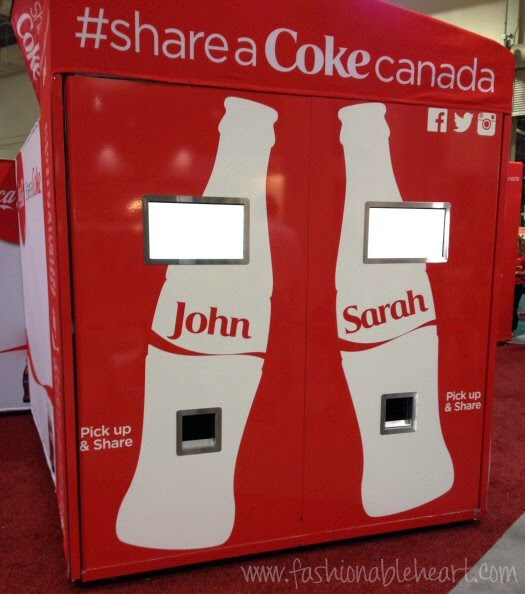2014 Toronto CNE Share a Coke dispenser