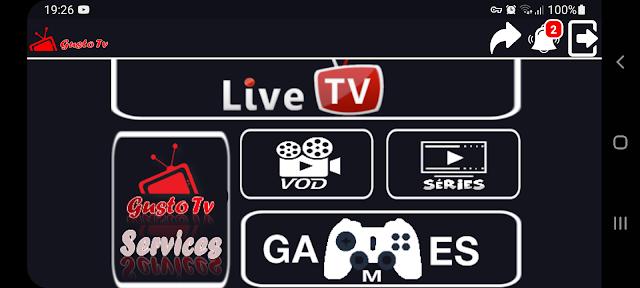 تحميل تطبيق Gusto Tv.apk لمشاهدة القنوات و متابعة المباريات مع كود التفعيل