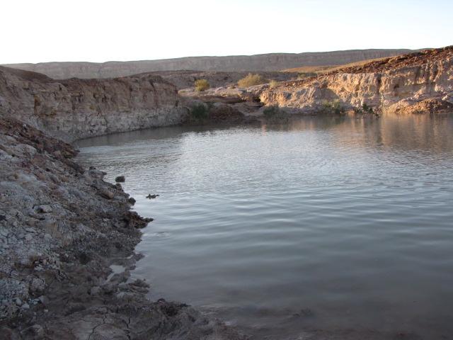 אגם ליד המנסרה