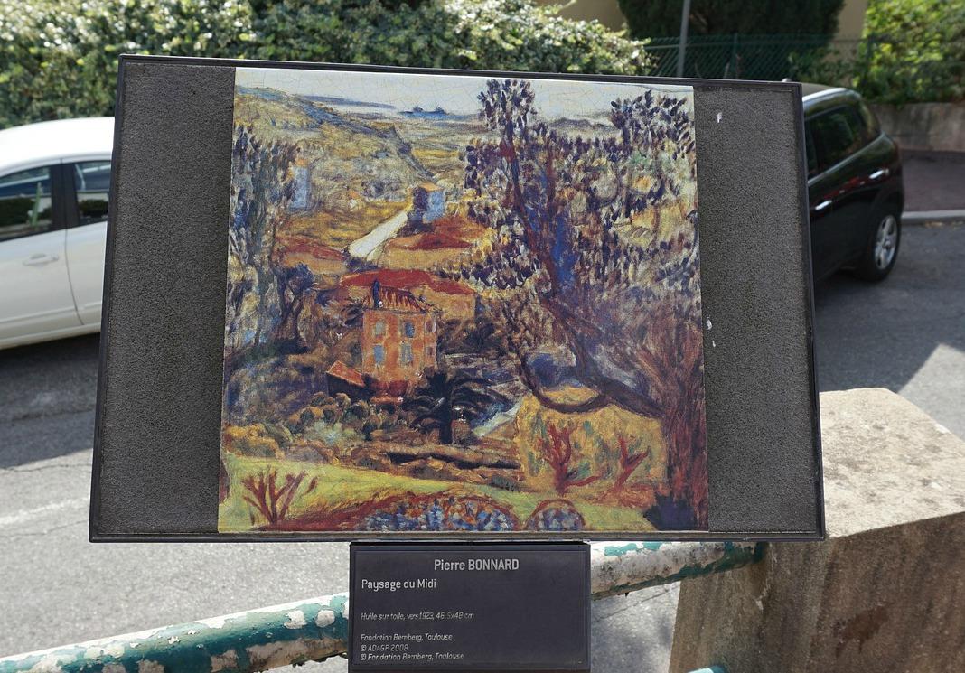 Bonnard's Paysage du Midi