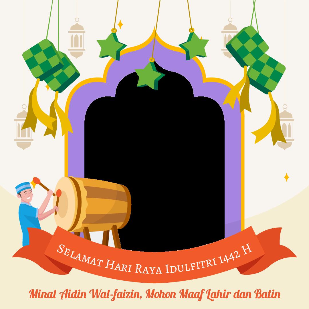Twibbon Selamat Hari Raya Idul Fitri 1442 H