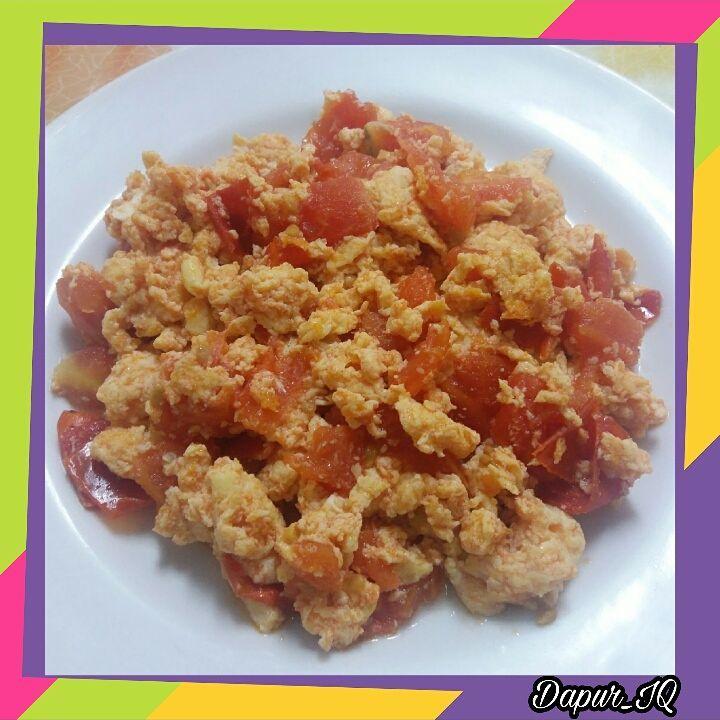 Telur Masak Tomat