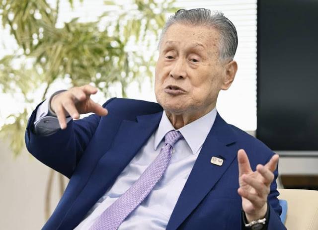 Chefe do Comitê Organizador Tóquio 2020 Yoshiro Mori
